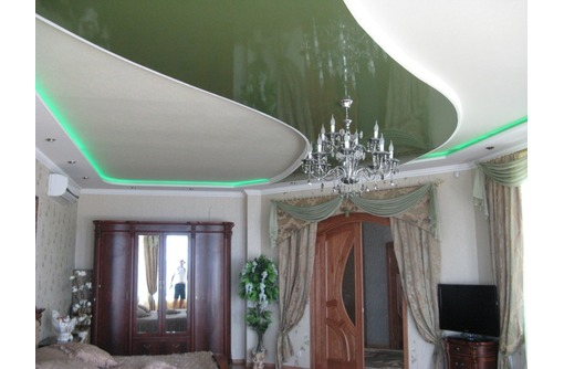 Французские натяжные потолки GreenLife, фото — «Реклама Севастополя»