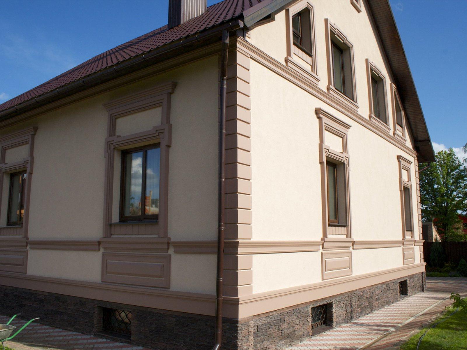 Фото отделка фасада 2