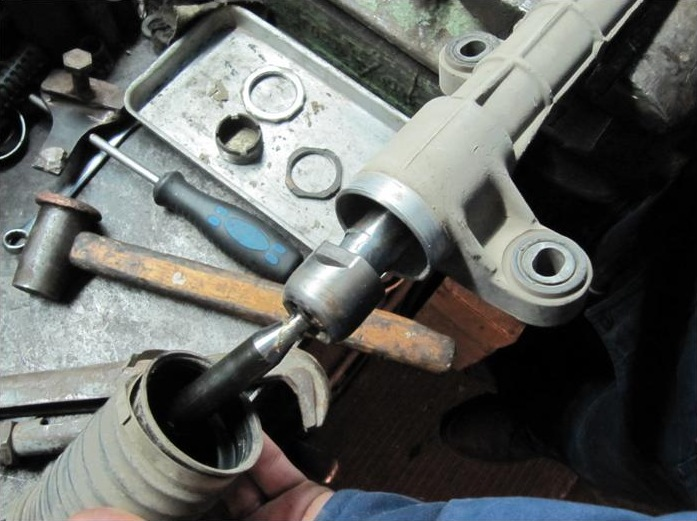 Ремонт рулевой рейки своими руками видео тойота королла