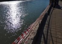 В Сочи обрушилась набережная реки, реконструированная два года назад, фото — «Рекламы Сочи»