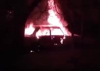 В Краснодаре взорвались припаркованные «Жигули», фото — «Рекламы Кубани»