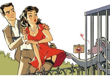 Он вас бьет? А вы от него гуляете? Это и есть любовь!, фото — «Реклама Кубани»