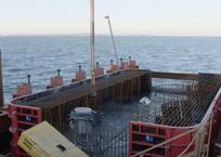 Строители Керченского моста объявили об установке 200-й опоры, фото — «Рекламы Севастополя»