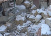В Крыму произошёл обвал части многоквартирного дома, фото — «Рекламы Крыма»