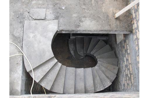 Монолитные лестницы, лестницы из бетона, винтовые., фото — «Реклама Севастополя»