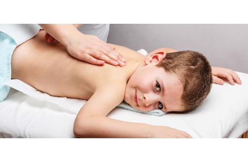 Детский массаж от 3-х лет, фото — «Реклама Севастополя»