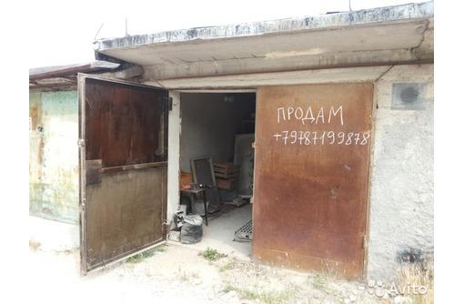 """Продам каменный гараж с большим подвалом ГК """"Железнодорожник"""" (Камышовое шоссе), фото — «Реклама Севастополя»"""