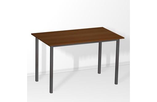 Стол ДСП на металл каркасе от 800 руб, дешевая мебель для общежитий и гостиниц, оптом мебель ДСП, фото — «Реклама Щелкино»