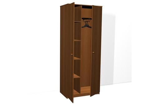 Шкаф для одежды ДСП двухстворчатый комбинированный от 2850, мебель ДСП для гостиниц и пансионата опт, фото — «Реклама Керчи»