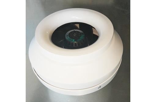 Вентилятор канальный круглый ВКВ-П 125E (пластиковый корпус), фото — «Реклама Севастополя»