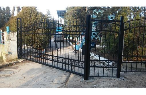 Ворота откатные консольного типа от 33000руб, фото — «Реклама Севастополя»