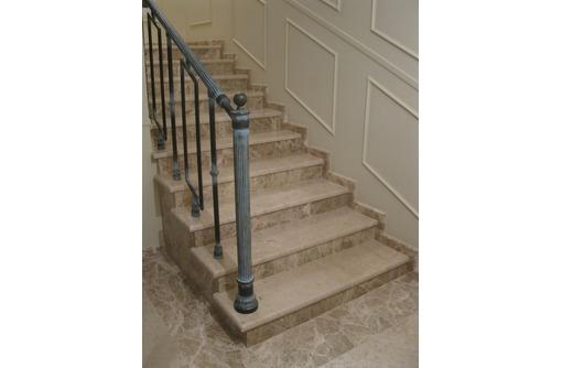Изготовление лестниц любой сложности из мрамора, гранита, травертина., фото — «Реклама Севастополя»
