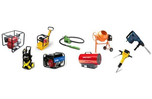 Аренда и продажа строительного оборудования и инструментов, фото — «Реклама Симферополя»