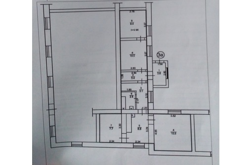 Продаётся 3-комнатная квартира в Карьерном!, фото — «Реклама города Саки»
