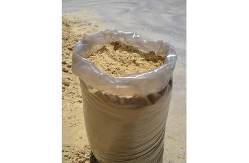 Песок, щебень, тырса, отсев, цемент, уголь в мешках, фото — «Реклама Севастополя»
