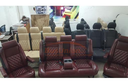 Турецкие Вип сиденья для микроавтобуса., фото — «Реклама Севастополя»