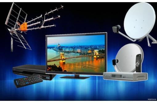 Монтаж и подключение спутникового телевидения в Севастополе, фото — «Реклама Севастополя»