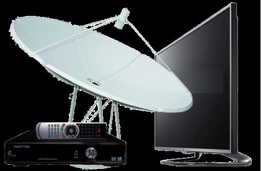 Установка, настройка и ремонт спутниковых антенн Триколор, НТВ+ и Телекарта в Севастополе, фото — «Реклама Севастополя»