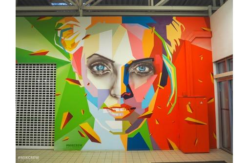Художественная роспись стен, граффити на заказ. Крым. Art & design studio Mik, фото — «Реклама Симферополя»