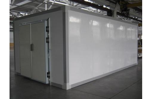 Монтаж холодильных камер из сендвич панелей, фото — «Реклама Симферополя»