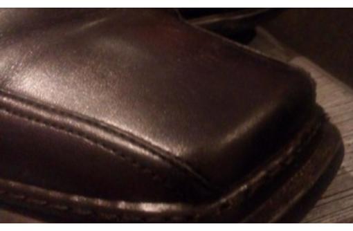 Утепленные кожанные ботинки, фото — «Реклама Симферополя»