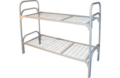 Кровати для хостелов и интернатов, Кровати металлические для бытовок и вагончиков, Кровати, фото — «Реклама Ялты»