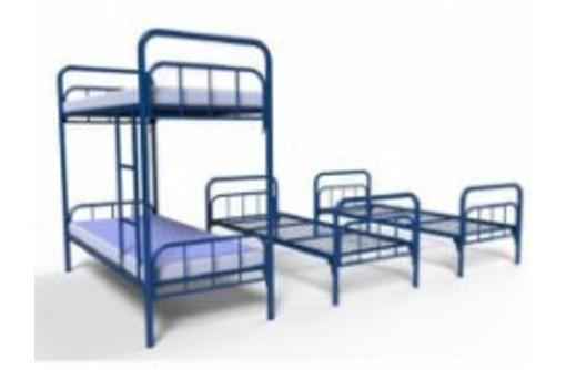 Кровати металлические эконом от производителя оптом, фото — «Реклама Керчи»