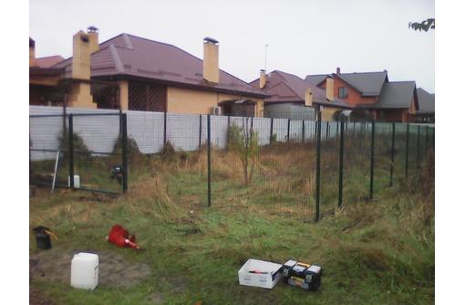 3Д Забор, 3Д сварная панель 2030*2500*3и4 мм. Порошковое окр., фото — «Реклама Керчи»