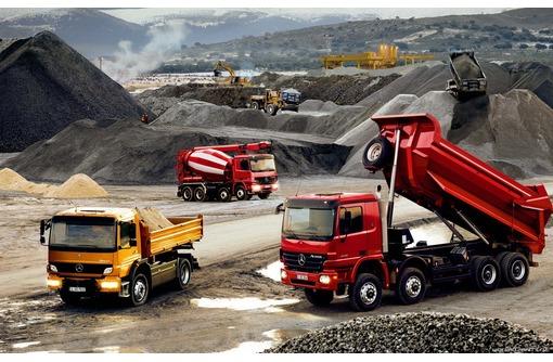 Доставка стройматериалов: песка, щебня, бута, вывоз грунта в Севастополе, фото — «Реклама Севастополя»