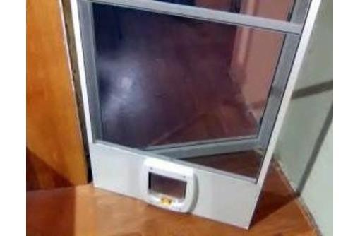 """Москитная сетка """" Антикот"""" дверная с люком., фото — «Реклама Севастополя»"""