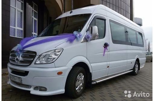 Заказ микроавтобуса Мерседес Спринтер с кондиционером, фото — «Реклама Севастополя»