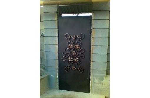 Металлические двери. Сварные и кованные двери., фото — «Реклама Севастополя»