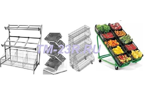 Овощные металлические стойки, фото — «Реклама Севастополя»