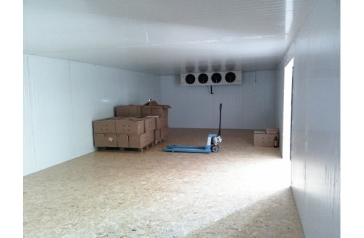 Холодильные камеры и холодильные агрегаты, фото — «Реклама Щелкино»