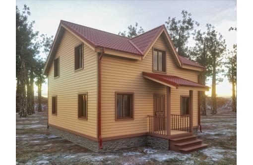 Каркасный деревянный сборный дом ! Есть образец- можно смотреть!, фото — «Реклама Севастополя»