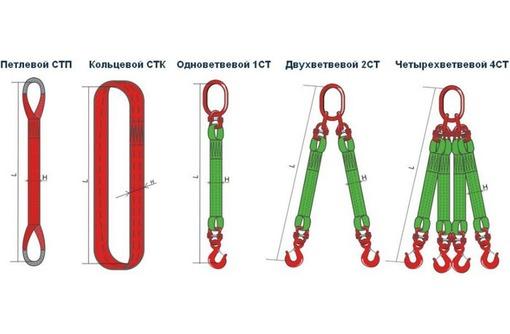 Стропы текстильные СТП, СТК, 1СТ,2СТ,4СТ, фото — «Реклама Севастополя»