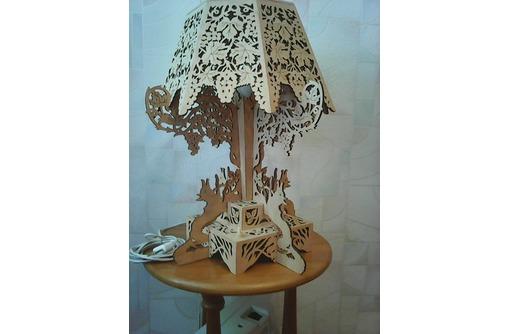 """Продаётся настольная лампа """"Лиса и виноград"""" авторского исполнения, фото — «Реклама Севастополя»"""