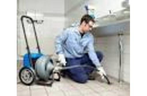 Прочистка канализации от засора, фото — «Реклама Партенита»