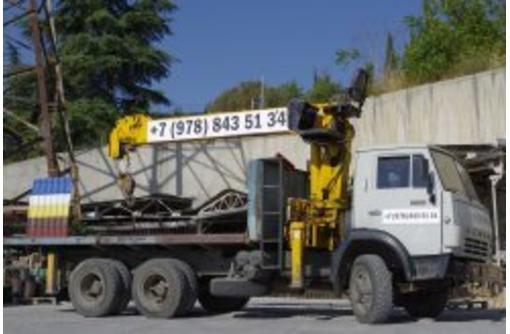 Услуги манипулятора в Ялте, фото — «Реклама Ялты»