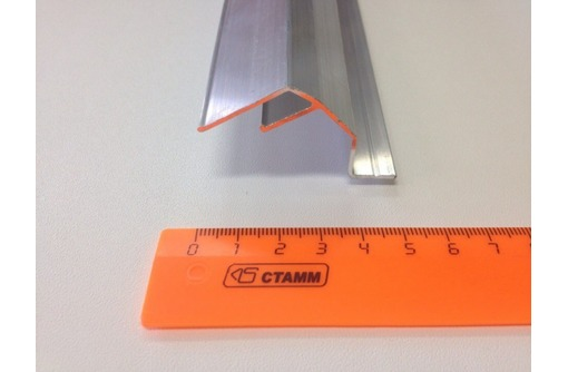 Алюминиевый  профиль для парящих натяжных потолков, фото — «Реклама Симферополя»