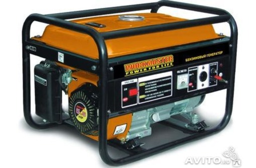 """Бензиновый генератор """"Workmaster """" PG-3000 Е1., фото — «Реклама Симферополя»"""