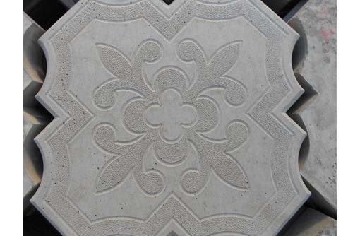 """Тротуарная плитка """"Ромашка (ковер)"""", фото — «Реклама города Саки»"""