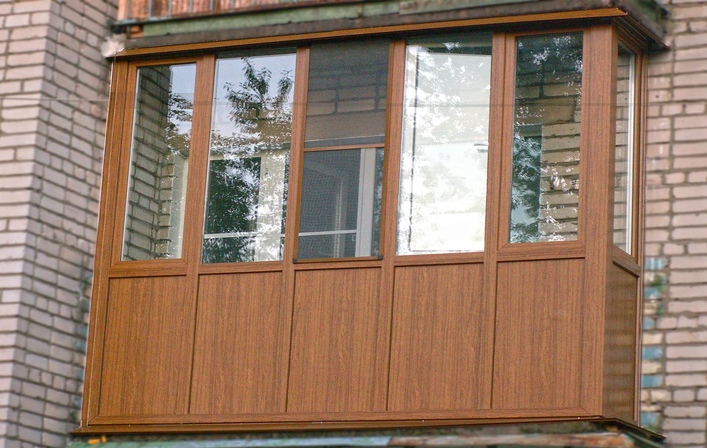 Наружная отделка балконов - mega-plast.