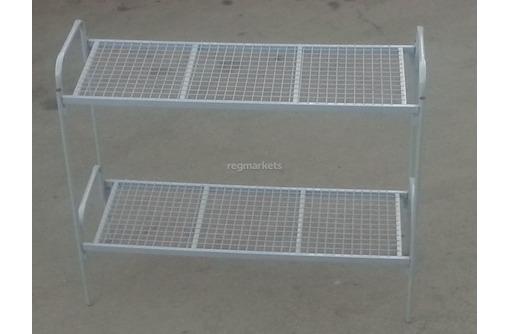 Кровати 2-ярусные с доставкой металлические, фото — «Реклама Белогорска»