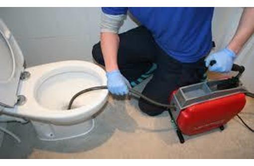 Прочистка канализации от засоров, фото — «Реклама Гурзуфа»