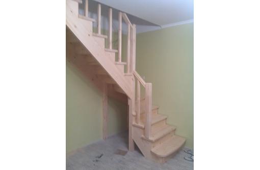 Бюджетные деревянные лестницы для дома и дачи, фото — «Реклама Севастополя»