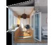 Расширение- остекление балкона , отделка , утепление, фото — «Реклама Севастополя»