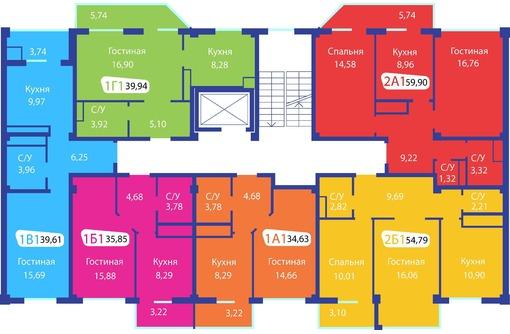 """Продам 1-комнатную квартиру, в Новом ЖК """"Радуга """", фото — «Реклама Симферополя»"""