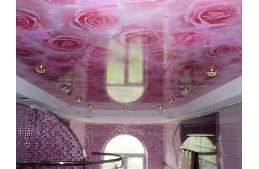 Натяжные потолки с фотопечатью, фото — «Реклама Севастополя»
