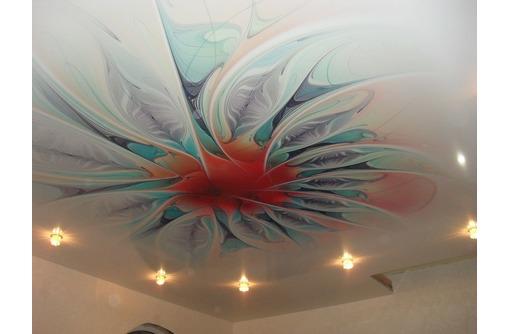 Натяжной потолок с фотопечатью, фото — «Реклама Ялты»